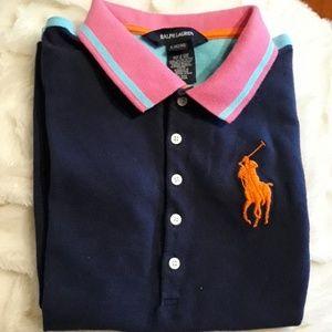 Ralph Lauren polo shirt size L(12-14)